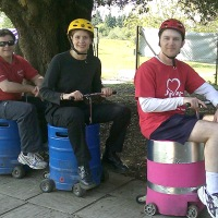 Motorised Beer Kegs